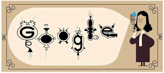 Leeuwenhoek google doodle